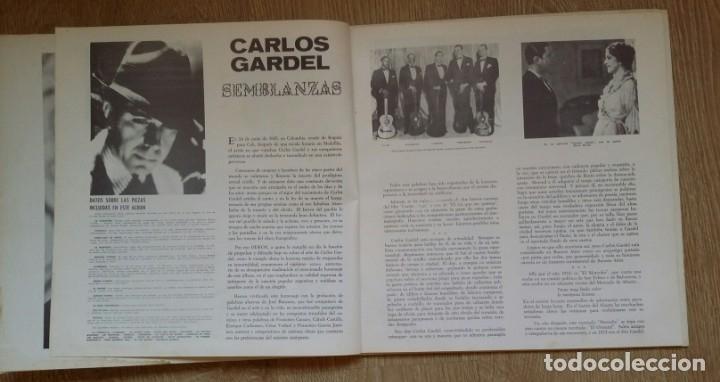 Discos de vinilo: 3 Lp vinilo 1963 Homenaje Carlos Gardel XVIII Aniversario Muerte Edición limitada Fotos y testamento - Foto 15 - 108723483