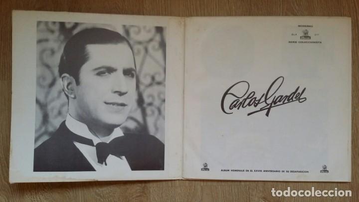 Discos de vinilo: 3 Lp vinilo 1963 Homenaje Carlos Gardel XVIII Aniversario Muerte Edición limitada Fotos y testamento - Foto 16 - 108723483