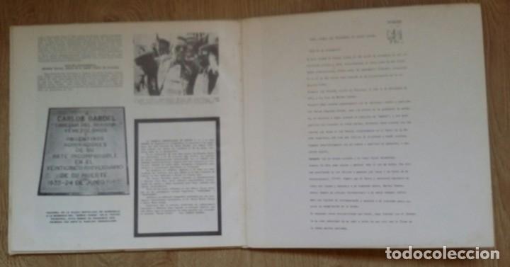 Discos de vinilo: 3 Lp vinilo 1963 Homenaje Carlos Gardel XVIII Aniversario Muerte Edición limitada Fotos y testamento - Foto 17 - 108723483