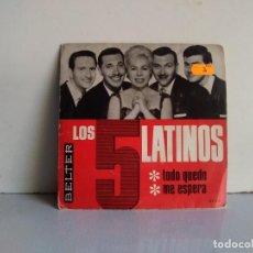 Discos de vinilo: LOS 5 LATINOS . Lote 170895475