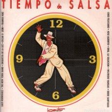 Discos de vinilo: TIEMPO DE SALSA ( CHEO FELICIANO, LALO RODRIGUEZ, VARGAS, ) LP DE 1991 RF-7648 . Lote 170902260