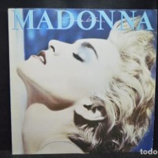 Discos de vinilo: MADONNA - TRUE BLUE - LP. Lote 170918235