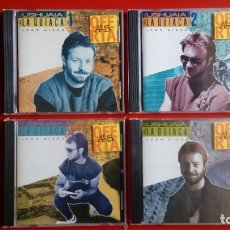 Discos de vinilo: LEÓN GIECO. 'DE USHUAIA A LA QUIACA' VOL. 1, 2, 3 Y 4 (CD'S). Lote 160523166