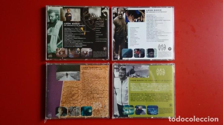 Discos de vinilo: León Gieco. 'De Ushuaia a La Quiaca' Vol. 1, 2, 3 y 4 (CD's) - Foto 2 - 160523166