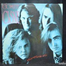 Discos de vinilo: COMITE CISNE - INSTINTO - LP. Lote 170923930