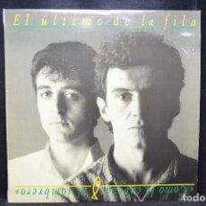 Discos de vinilo: EL ÚLTIMO DE LA FILA - COMO LA CABEZA AL SOMBRERO - LP. Lote 170926520