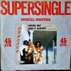 Discos de vinilo: MAXI VINILO ODYSSEY:INSIDE OUT, ESPAÑA 1982 RCA ?– PC-3218 , MUY BUEN ESTADO. Lote 170927305