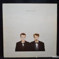 Discos de vinilo: PET SHOP BOYS - ACTUALLY - LP. Lote 184078295