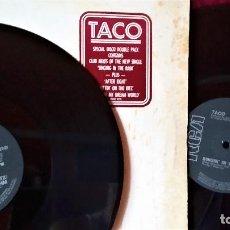 Discos de vinilo: MAXI VINILO TACO: SINGIN´ IN THE RAIN-PUUTIN´ON THE RITZ, DOBLE MAXI UK 1982 RCA ?– RCAT 327. Lote 170929600