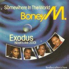 Discos de vinilo: BONEY M. SINGLE. SELLO ARIOLA. EDITADO EN ESPAÑA. AÑO 1984. Lote 170931975