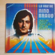 Discos de vinilo: LA VOZ DE NINO BRAVO - LP VINILO - POLYDOR - 1980. Lote 170936155