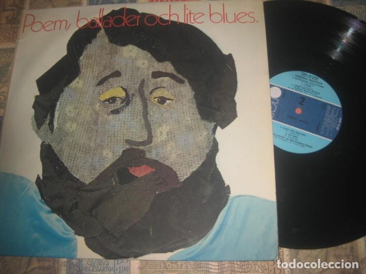 CORNELIS VREESWIJK POEM BALLADER OCH LITE BLUES (METRONOME-1970) OG SWEEDEN RARE FOLK BLUE (Música - Discos - LP Vinilo - Pop - Rock Extranjero de los 50 y 60)