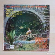 Discos de vinilo: ASÍ CANTAN LAS ISLAS CANARIAS - ANTONIA LOPEZ - LOS TREVOLES - SINGLE VINILO - EMI - REGAL - 1966. Lote 170952810