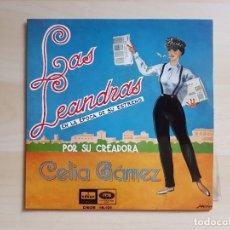 Discos de vinilo: LAS LEANDRAS - CELIA GÁMEZ - SINGLE VINILO - EMI - 1958. Lote 170955205
