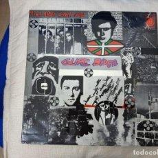 Discos de vinilo: GURE BIDEA: MUSICA DEL PAIS VASCO- PROMOCIONAL CON HOJA DE PRENSA PAIS VASCO- EXCELENTE!!. Lote 170960644