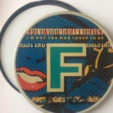 Discos de vinilo: SINGLE FYC FINE YOUNG CANNIBALS EDICIÓN LIMITADA CAJA ALUMINIO. Lote 170961283