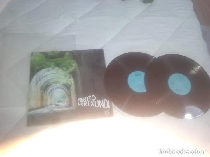 BENITO LERTXUNDI // LP DOBLE 33 RPM / ELKAR COMO NUEVO (Música - Discos - LP Vinilo - Solistas Españoles de los 70 a la actualidad)