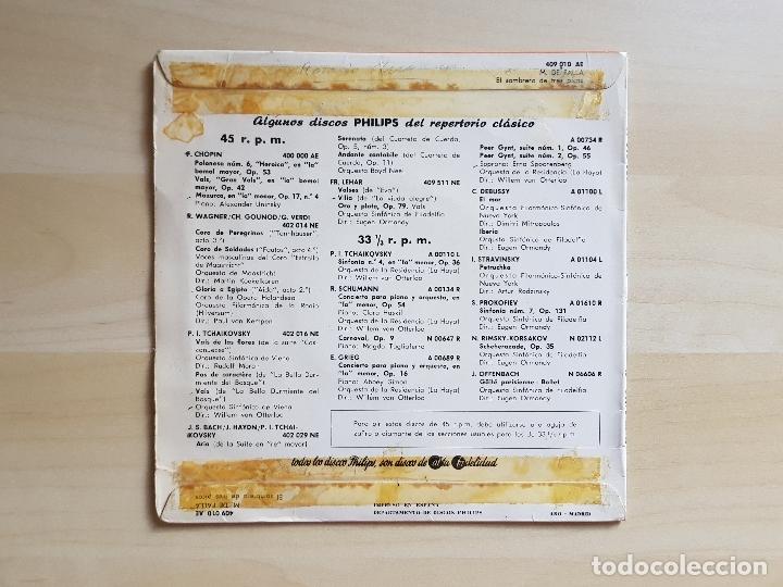 Discos de vinilo: EL SOMBRERO DE TRES PICOS - SINFÓNICA DE NUEVA YORK - M. DE FALLA - SINGLE VINILO - PHILIPS - Foto 2 - 170966968