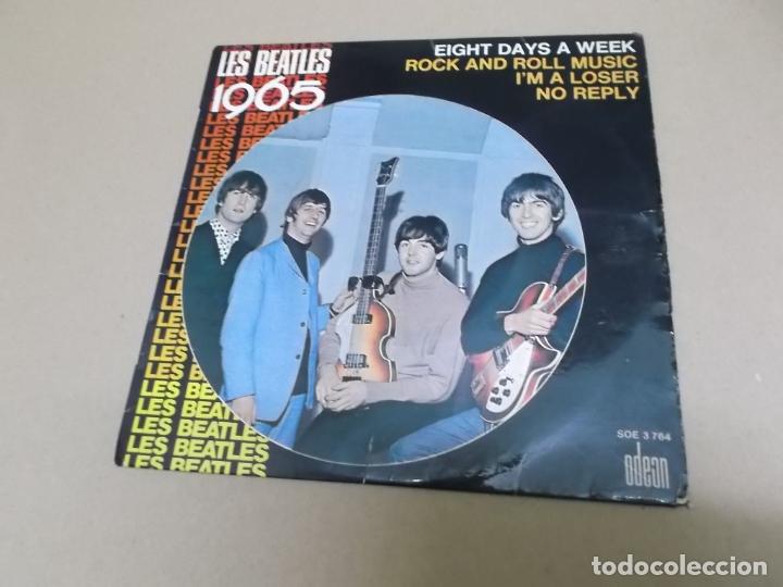 THE BEATLES (EP) NO REPLY AÑO – 1965 – EDICION FRANCIA (Música - Discos de Vinilo - EPs - Pop - Rock Internacional de los 50 y 60)
