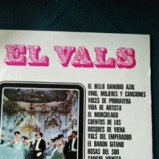 Discos de vinilo: EL VALS LOS MÁS FAMOSOS VALSES AUSTRIACOS. Lote 170977300