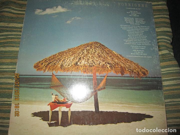 Discos de vinilo: CAT STEVENS - FOREIGNER LP - ORIGINAL U.S.A. - A&M 1973 CON ENCARTE CARTON DURO Y FUNDA INTERIOR. - - Foto 2 - 170978439