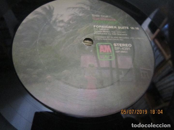 Discos de vinilo: CAT STEVENS - FOREIGNER LP - ORIGINAL U.S.A. - A&M 1973 CON ENCARTE CARTON DURO Y FUNDA INTERIOR. - - Foto 13 - 170978439