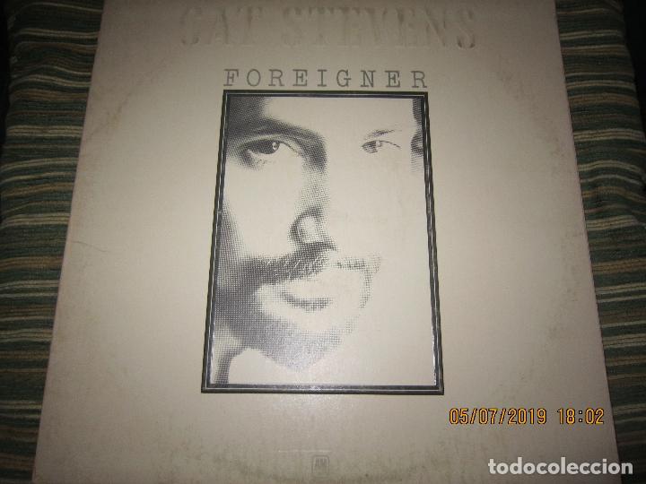 CAT STEVENS - FOREIGNER LP - ORIGINAL U.S.A. - A&M 1973 CON ENCARTE CARTON DURO Y FUNDA INTERIOR. - (Música - Discos - LP Vinilo - Pop - Rock - Extranjero de los 70)