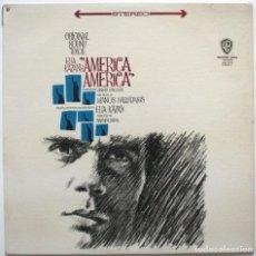 Discos de vinilo: AMERICA AMERICA. ELIA KAZAN. MANOS HADJIDAKIS. Lote 170980544