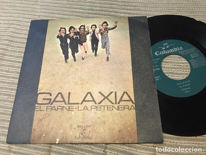 GALAXIA - EL PARNE - SINGLE COLUMBIA 71 PROMOCIONAL - FUNK (Música - Discos - Singles Vinilo - Grupos Españoles de los 70 y 80)