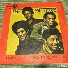 Discos de vinilo: METERS - HAND CLAPPING SONG - SINGLE PROMOCIONAL JUBILEE 70 FUNK. Lote 170981804