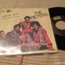 Discos de vinilo: METERS - LOOK KA PY PY - SINGLE PROMOCIONAL JUBILEE 70 FUNK. Lote 170981953