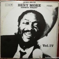 Discos de vinilo: SERIE BENY MORE VOL. 4. VINILO DEL SELLO EGREM, CUBA. Lote 170983739