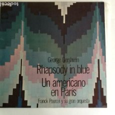 Discos de vinilo: L.P. BANDA SONORA ORIGINAL RHAPSODY IN BLUE, UN AMERICANO EN PARÍS. VER FOTOS.. Lote 170984205