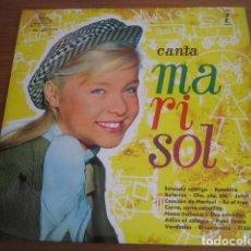 Disques de vinyle: MARISOL - CANTA TEMAS DE UN RAYO DE LUZ Y HA LLEGADO UN ÁNGEL LP MONTILLA 1961 MUY BUEN ESTADO. Lote 170987169