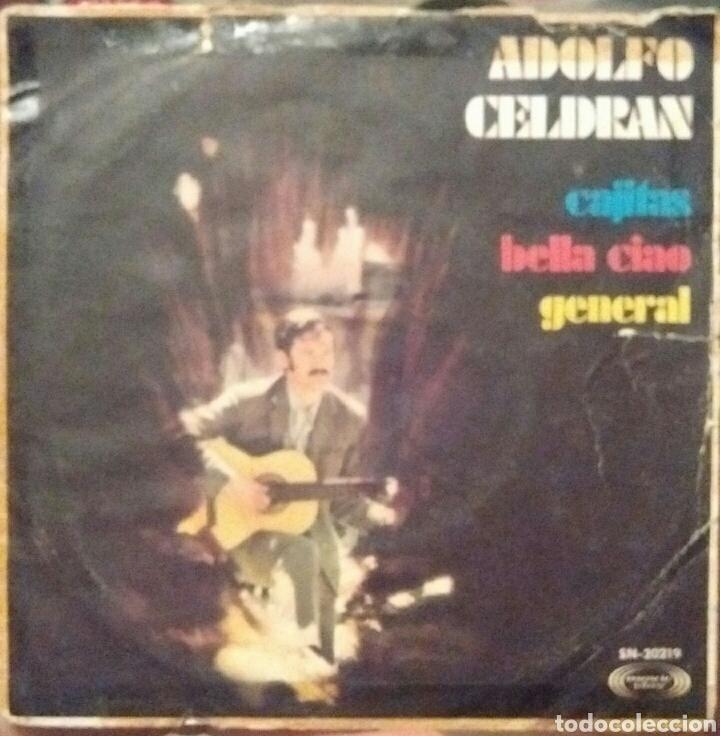 ADOLFO CELDRÁN - CAJITAS / BELLA CIAO / GENERAL - PRIMER DISCO - MOVIEPLAY 1969 (Música - Discos de Vinilo - EPs - Cantautores Españoles)