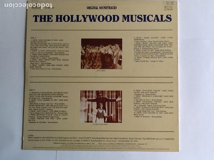 Discos de vinilo: L.P. BANDA SONORA ORIGINAL, THE HOLLYWOOD MUSICALS. 20 TEMAS. VER FOTOS. - Foto 2 - 170990387