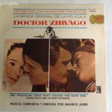 Discos de vinilo: L.P. BANDA SONORA ORIGINAL, DE LA PELÍCULA DOCTOR ZHIVAGO. VER FOTOS.. Lote 170990507