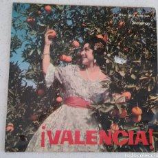 Discos de vinilo: VALENCIA, BANDA UNIÓN MUSICAL DE LIRIA,1963 HIMNO REGIONAL, EL FALLERO, VALENCIA, L'ENTRA DE LA MURT. Lote 170994254