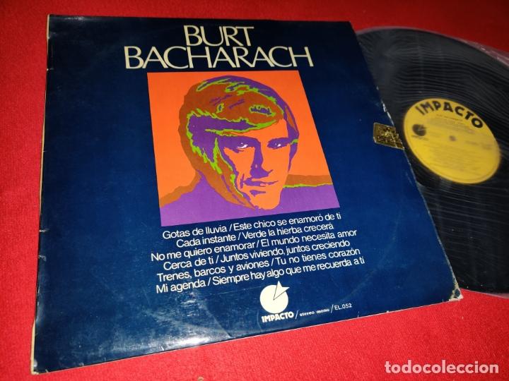 BURT BACHARACH LP 1974 IMPACTO SPAIN ESPAÑA (Música - Discos - LP Vinilo - Pop - Rock Extranjero de los 50 y 60)