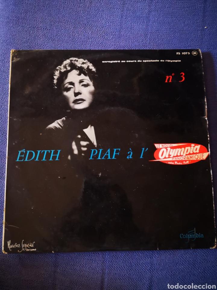 EDITH PIAF - A L'OLYMPIA - N° 3 (Música - Discos de Vinilo - Maxi Singles - Canción Francesa e Italiana)