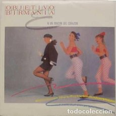 Discos de vinilo: OBJETIVO BIRMANIA– EN UN RINCON DEL CORAZON - MAXI-SINGLE PROMO SPAIN 1985 . Lote 171007795