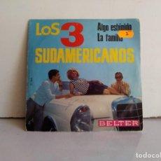 Discos de vinilo: LOS 3 SUDAMERICANOS . Lote 171014229