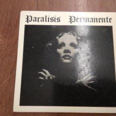 Discos de vinilo: PARALISIS PERMANENTE - NACIDOS PARA DOMINAR - SANGRE(SINGLE).. Lote 171015879