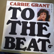 Discos de vinilo: CARRIE GRANT - TO THE BEAT. Lote 171024905
