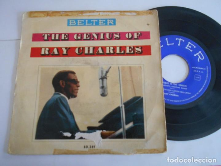Discos de vinilo: RAY CHARLES- EP THE GENIUS OF RAY CHARLES-1960 - Foto 1 - 171024933