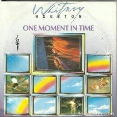 Discos de vinilo: WHITNEY HOUSTON. SINGLE. SELLO ARISTA. EDITADO EN ALEMANIA. Lote 171025724