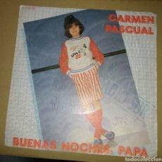 Discos de vinilo: CARMEN PASCUAL - BUENAS NOCHES, PAPA. Lote 171026528
