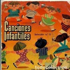 Discos de vinilo: CANCIONES POPULARES INFANTILES VOL. 2 (EP 1958 VINILO ROSA). Lote 171038489