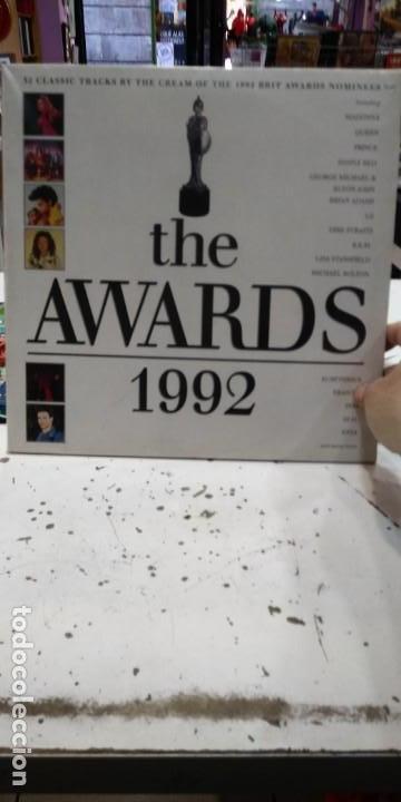 VINILO THE AWARDS 1992 RARO COMO NUEVO DOBLE DISCO (Música - Discos de Vinilo - EPs - Pop - Rock Internacional de los 90 a la actualidad)