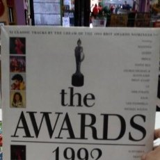 Discos de vinilo: VINILO THE AWARDS 1992 RARO COMO NUEVO DOBLE DISCO. Lote 171042575